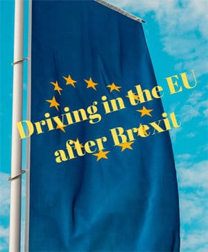Driving in the EU after Brexit